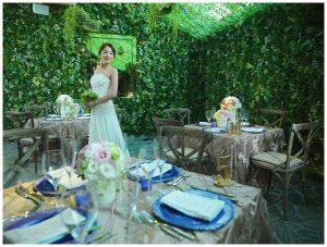 romantic wedding venue design