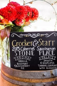 napa winery event planner and design