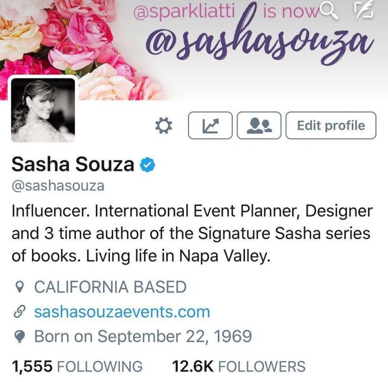 sasha souza events influencer