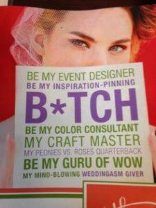 wedding planner advertisement