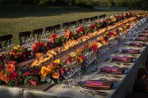 social event planner napa winery event