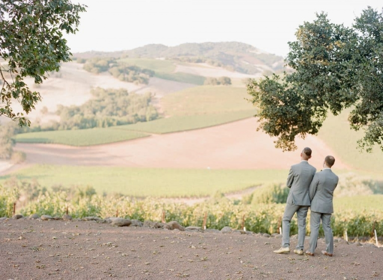 sonoma same sex wedding