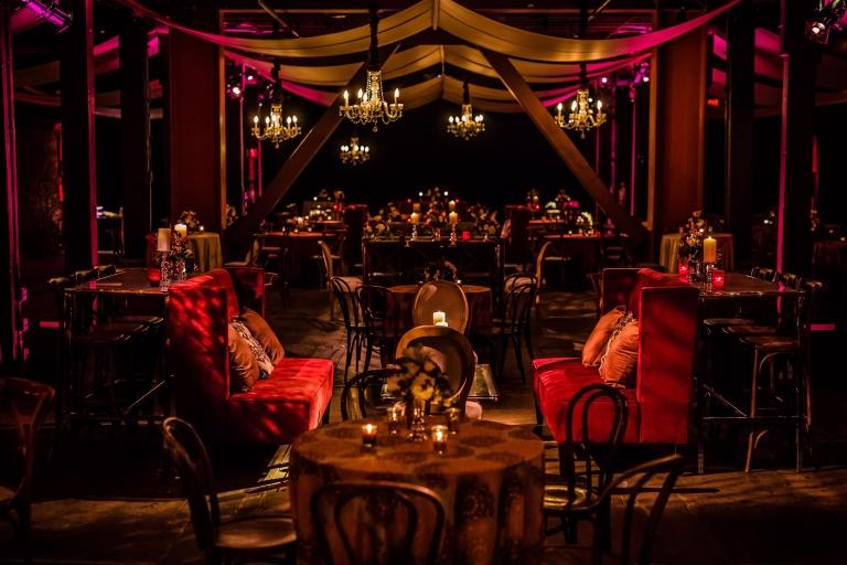 Culinary Institute of America Barrel Room Wedding