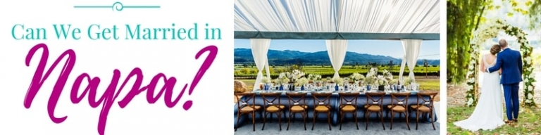 Napa wedding venues