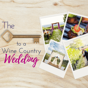 napa or sonoma wine country weddings