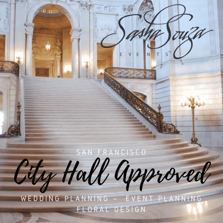 city hall san francisco wedding planner