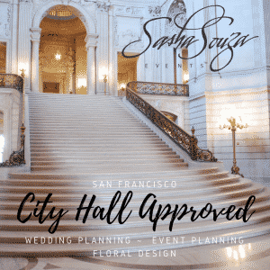 city hall san francisco wedding planner