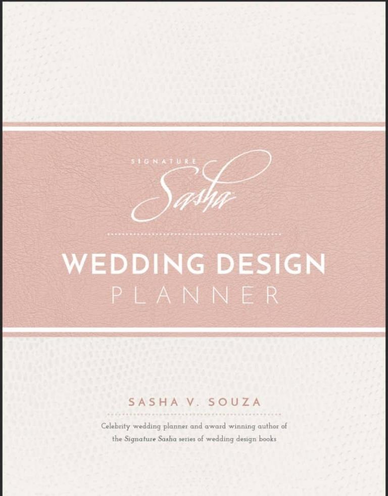 Wedding Planner Books Sasha Souza Events